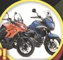 Nouveauté: encore des 250 chez Kawasaki et chez Suzuki