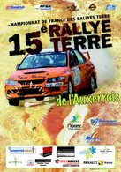 Bryan Bouffier au Rallye Terre de l'Auxerrois