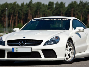 Mercedes SL65 Black Series P1000 par MKB : plus puissante qu'une Veyron