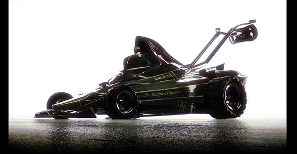 Rendu 3D : Lotus 72Tondeuse