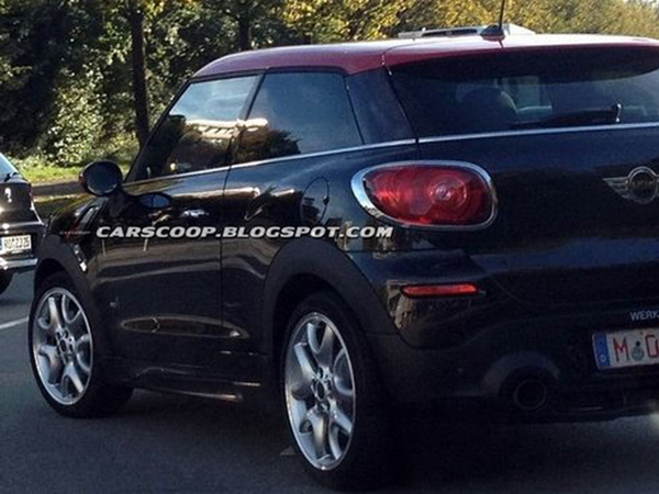 Surprise : le Mini Paceman John Cooper Works