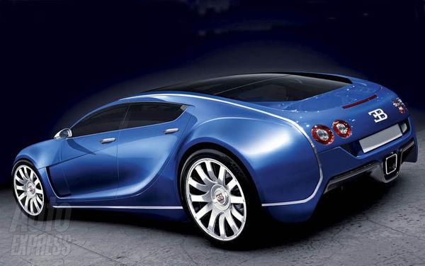 Future Bugatti Royale: comme ça?
