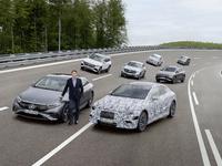 Mercedes: de l'électrique pour toute la gamme dès 2022