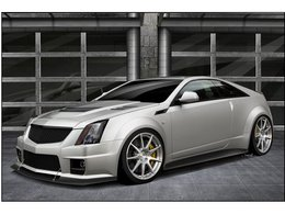 Futur Hennessey Twin turbo V1000 CTS-V Coupé : 1000 ch sinon rien
