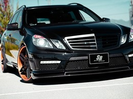 Mercedes Classe E63 AMG break SR Auto. Juste méchante