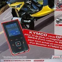 Scooter 50: Kymco connaît la musique