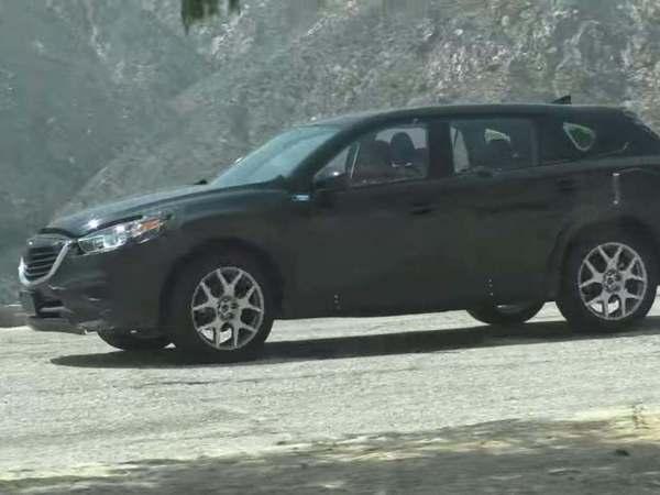 Surprise : le futur Mazda CX-9 se montre en vidéo