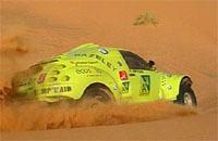 "Dakar 2008: Biobuggy Gazeley, le 1er ""véhicule écologique"""