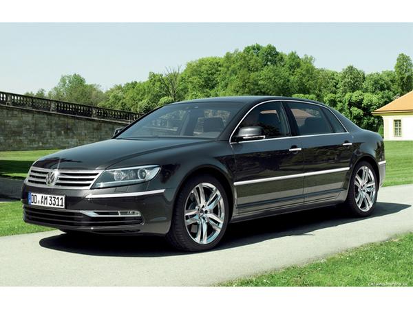 Volkswagen retarde la nouvelle Phaeton