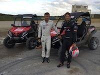CF Moto : défi de haute lutte entre Sébastien Ogier et Romain Grosjean à bord d'un ZForce 800 EX