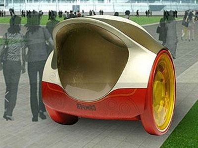 Pollution en Chine : la Camper lotus, voiture écolo très design