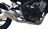 Ixrace: du Full system pour Honda CB650 F et CBR650 F