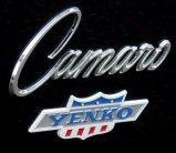 Les monstres routiers (partie 8): Chevrolet Camaro '69 Yenko.