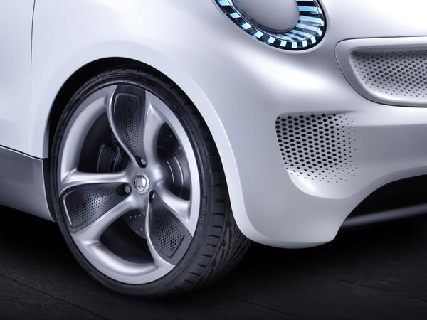 Un concept Smart Forvision à Francfort 2011