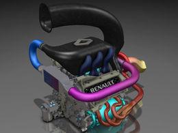 F1 - 1ère image du futur V6 Renault