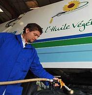 L'huile végétale serait dangereuse pour votre moteur.