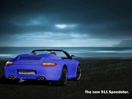 Mondial de Paris - Une nouvelle version de la Porsche 911, le Speedster!