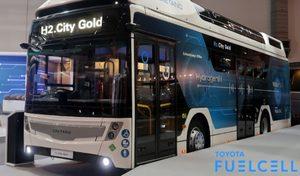 Un bus hydrogène avec des gènes de Toyota Mirai pour la RATP