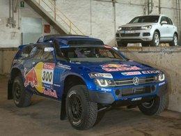 Voici le Volkswagen Race Touareg 3