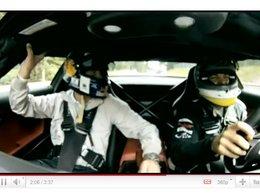 [vidéo] Nico Rosberg terrorise David Coulthard en Mercedes SLS AMG sur la Nordschleife !
