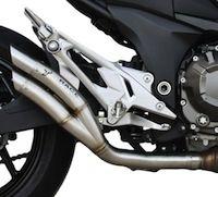Déjà un échappement Ixrace pour la Kawasaki Z800