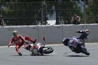 MotoGP - Catalogne J.3 : Lorenzo félicite Rossi et moins Iannone
