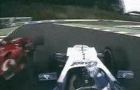 La leçon de pilotage: Quand Montoya dépasse Schumi...