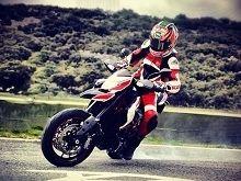 Actualité moto - Ducati: Nicky Hayden cravache la dernière version de l'Hypermotard