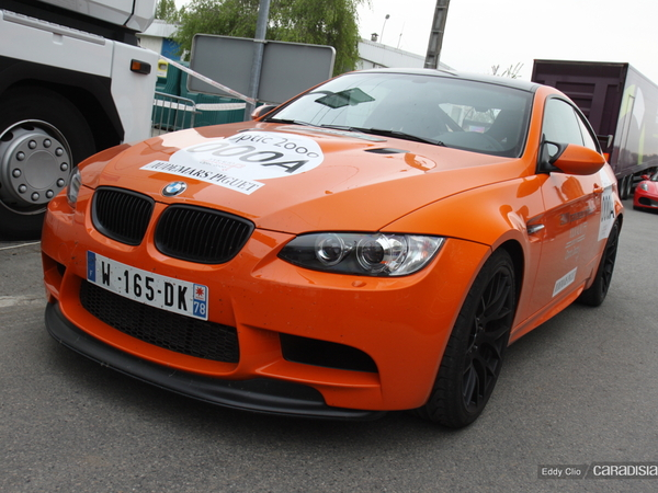 Photos du jour : BMW M3 GTS (Tour Auto)