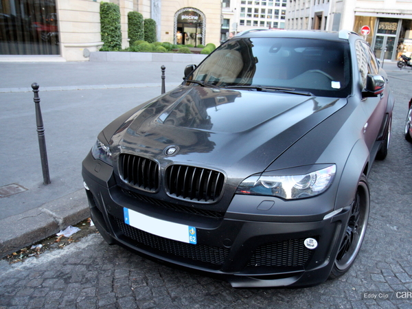 Photos du jour : BMW X6 Lumma