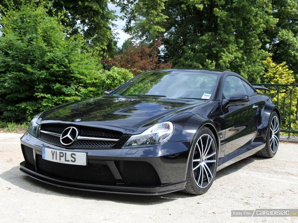 Photos du jour : Mercedes SL65 Black Series (Parade des Pilotes)