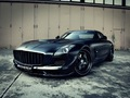 Mercedes SLS AMG par Kicherer : l'étoile noire à Dark