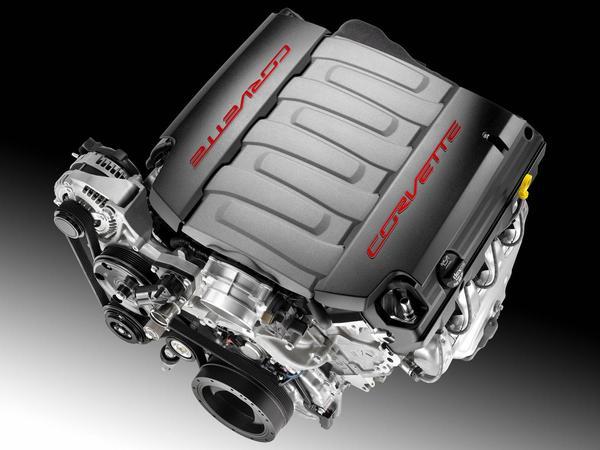 Voici le nouveau moteur LT1 de la nouvelle Corvette