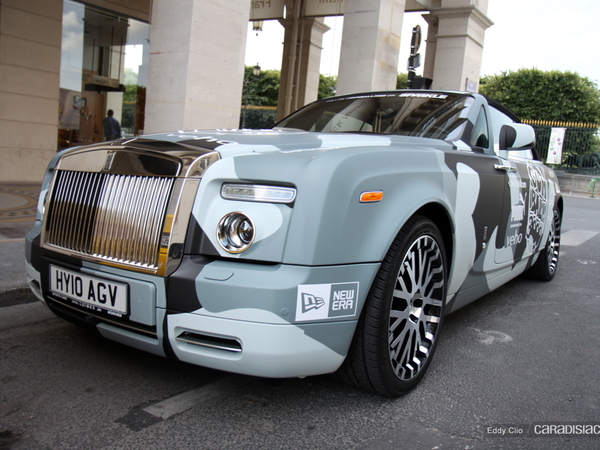 Photos du jour : Rolls-Royce Phantom Drophead (Gumball)