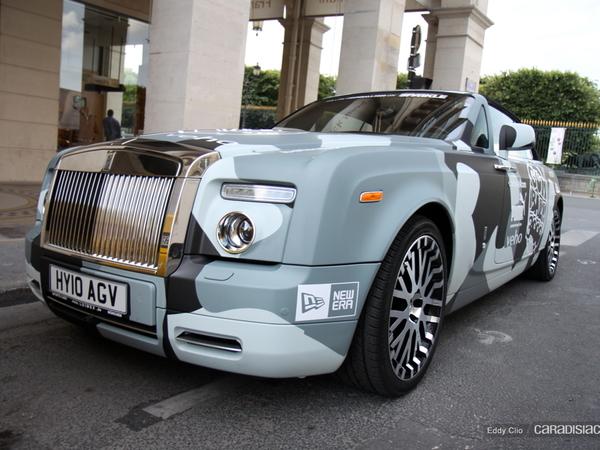 Photos du jour : Rolls-Royce Phantom Drophead (Gumball)