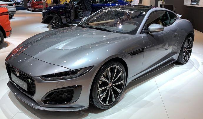 Jaguar F-Type restylée : regard plus félin - Vidéo en direct du Salon de Bruxelles 2020