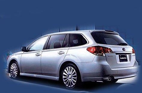 Future Subaru Legacy Break : c'est elle !