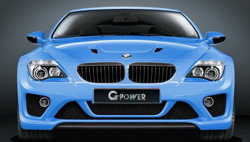 La G-POWER BMW M6 Hurricane CS vise 370 km/h!