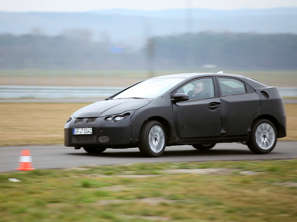 Honda dévoilera la nouvelle Civic à Francfort