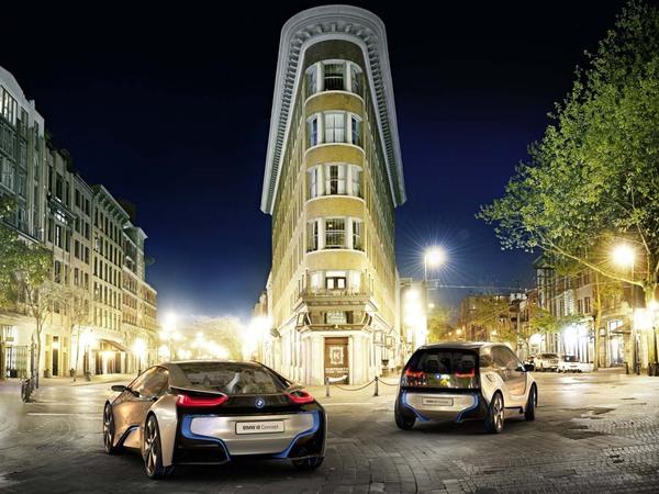 Francfort 2011 : BMW i3 et i8 Concepts, le futur se précise