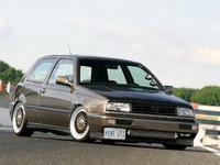VW Golf VR6, avec un turbo c'est mieux... (500 chevaux inside)