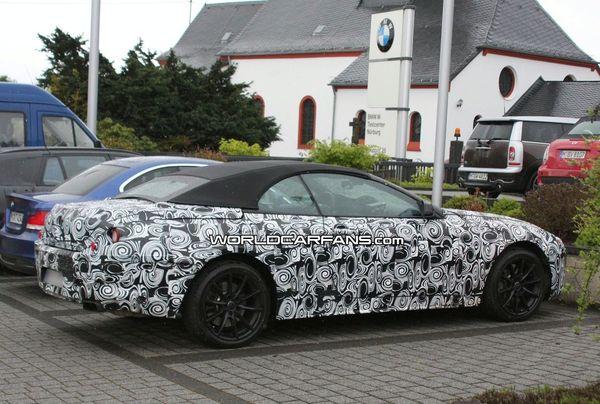 La future BMW Série 6 (encore) surprise en séance de test