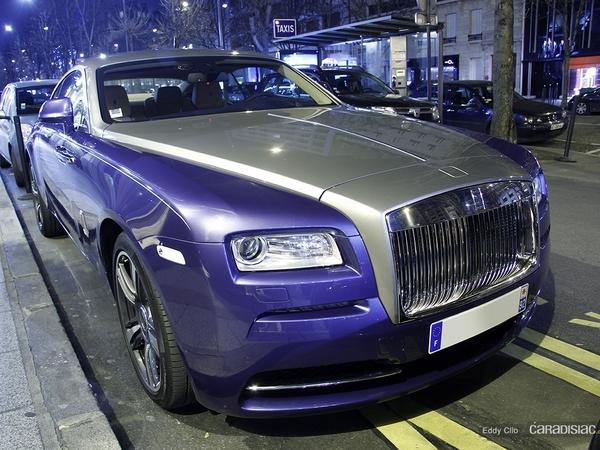 Photos du jour : Rolls-Royce Wraith