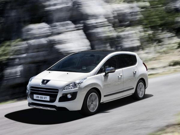 Peugeot 3008 HYbrid4 : le premier VP hybride diesel/électrique est français