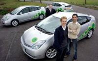 Taxis écolos à Londres : la Toyota Prius est la reine des transporteuses