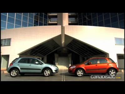 """Suzuki SX4: Le """"crossover"""" des jeunes familles ?"""