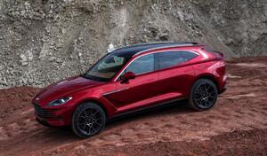 Aston Martin reprend des couleurs grâce à son SUV