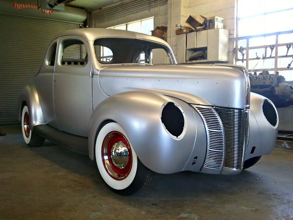 SEMA Show 2012 : Ford présente un hot rod sur base de Coupe 1940 neuf !