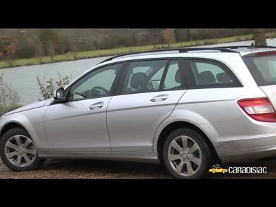 Video Mercedes Classe C break : Dans la lignée