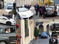 Un pape très branché voitures